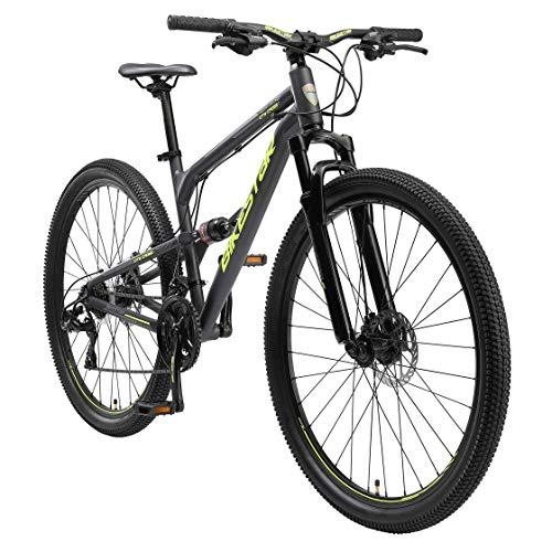 BIKESTAR Bicicleta de montaña de Aluminio Suspensión Doble Completa 29 Pulgadas | Cuadro 17.5