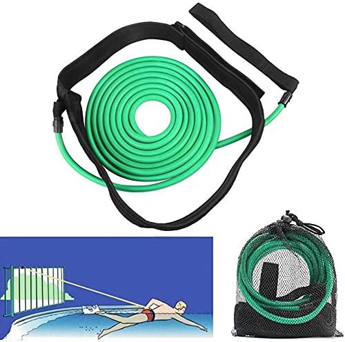 Fooing Cinturón de Entrenamiento, Equipo de natación Cuerda Elástica Conjunto de Cinturón de...*