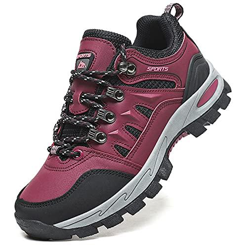 Topwolve Zapatillas de Senderismo para Hombre Zapatillas de Trekking Botas de Montaña...*