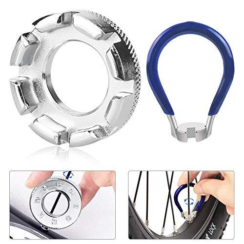 DECARETA Llave de radios de bicicleta, de hierro, tamaño 10 – 15, universal, para bicicleta,...*