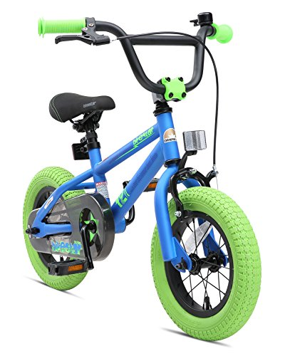 BIKESTAR Bicicleta Infantil para niños y niñas a Partir de 3 años | Bici 12 Pulgadas con Frenos |...*