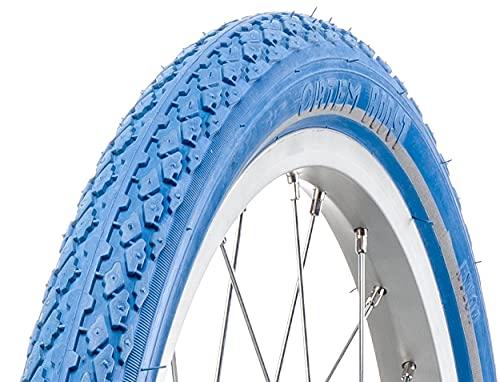 Amigo Ortem Boost 47-355 - Cubierta para bicicleta (18', con bandas reflectantes), color azul