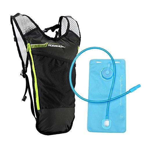 Lixada Mochila Hidratación,Bolsa para Correr con Bolsa de Agua Potable,Chaleco 5L + Botella de Agua...*