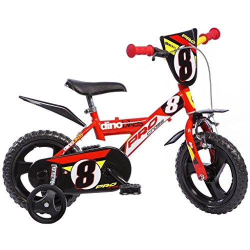 Partner AUA123GLN - Bicicleta para niño, Rueda 12 in, Color Rojo*