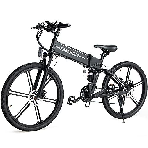 SAMEBIKE LO26-II Ebike Bicicleta de Montaña de 26 Pulgadas, Bicicleta Eléctrica Plegable para...*