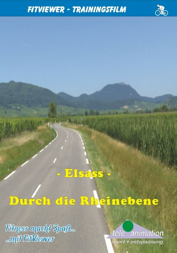 FitViewer Through The Rhine Plain Indoor Video Cycling France