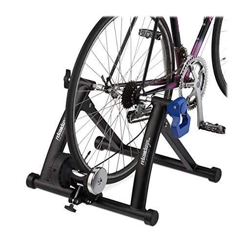 Relaxdays Rodillo Bicicleta Plegable para Ruedas de 26 - 28 Pulgadas, Antideslizante, Acero, 41 x...*