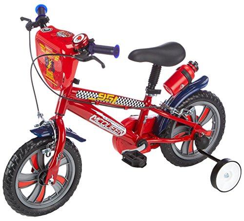 Denver Bike Disney Cars - Bicicleta de Rayo Mcqueen con ruedines*