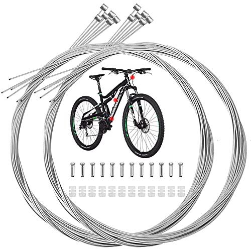 Cable de freno Cable de cambio Circuito de bicicletas Cable de freno de acero Juego de cables de...*