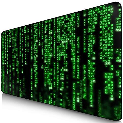 Sidorenko Alfombrilla XXL - Mouse Pad Gaming 900 x 400 mm - Bordes sin Bordes - Antideslizante - Alfombrilla Gaming - Verde