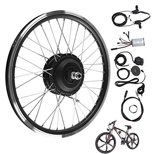 36V/48V 250W E-Bike 26'Kit de conversión de Rueda Delantera/Trasera con LED Dispaly Bicycle Cycling Engine(48V- Rear Motor)