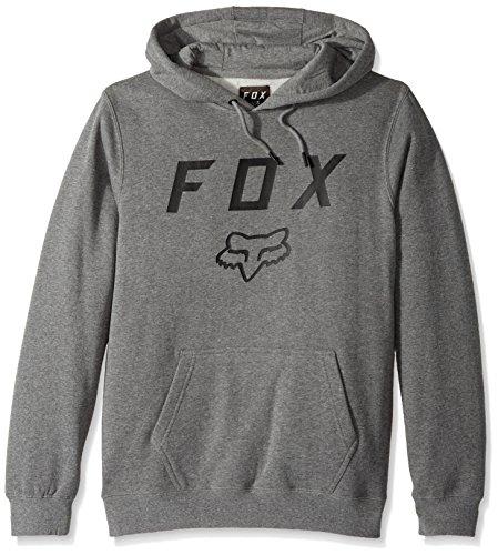 FOX 20555-185-M Pullover Hoodie, Heather Graphite, M