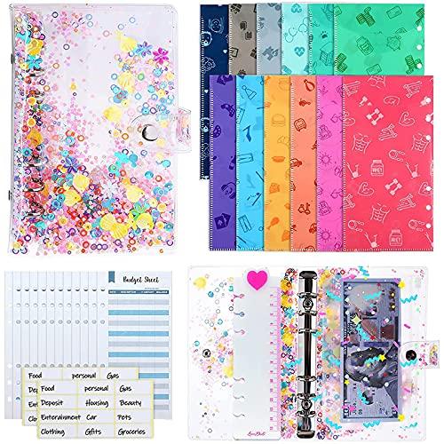 Cuaderno de carpeta, cuaderno de hojas sueltas, cuaderno recargable, diario y cuadernos para el hogar, oficina, escuela