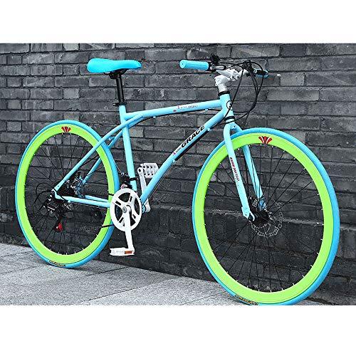 YXWJ 24/26 pulgadas Outroad bicicleta de montaña 24Speed ??montaña ciclismo de carretera conmuta...*