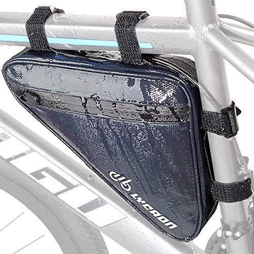 LYCAON Triangle - Bolsa para cuadro de bicicleta, impermeable, reflectante, para manillar de...*