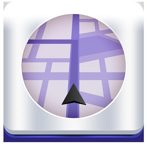 Delaware, EE.UU. GPS Satélite: Mad Map