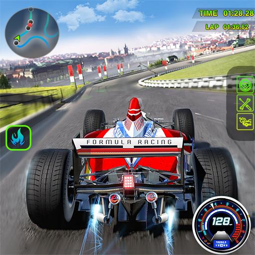 Carreras de fórmula de alta velocidad Extreme Car Stunts - Mega Ramp Impossible Tricky Tracks Xtreme Car Racing Stunts Simulator 2020 - Ultimate Craziest F1 Car Race 3D Fun Games 2020 - Juegos de cond