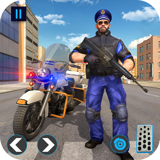 Police Bike Gangster Chase: Juegos de bicicletas 2019*