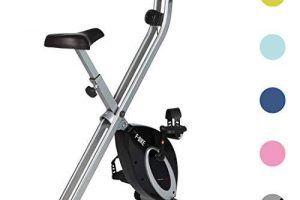 Bicicleta Estática Plegable Correas