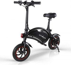Bicicleta Eléctrica Plegable sin Pedales