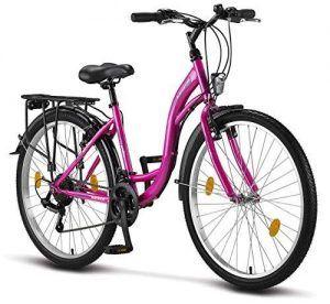 Bicicleta Paseo Mujer Rosa
