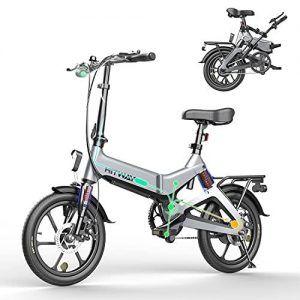 Bicicleta Eléctrica Plegable 16