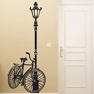 Vinilo Farola y Bicicleta