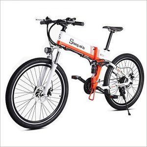 Bicicleta Plegable Doble Suspension Shimano