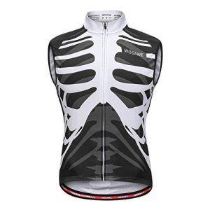 Maillot Ciclismo Esqueleto