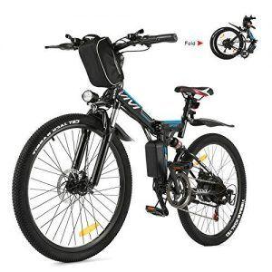 Bicicleta Eléctrica Plegable Doble Suspensión