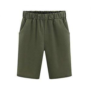 Pantalones Cortos Anchos Mujer