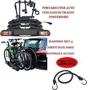 Porta Bicicleta para Gancho de Remolque