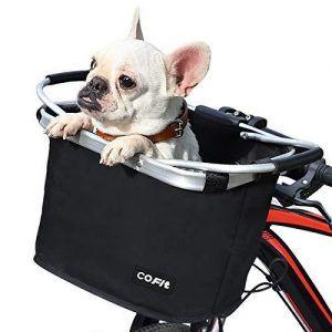 Canasta para Perros para Bicicleta