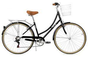 Bicicleta Paseo Mujer con Cesta