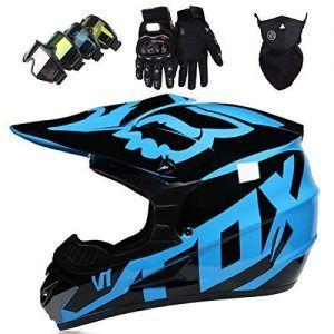 BMX Azul con Negro