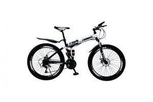 Bicicleta Btwin Plegable Roja