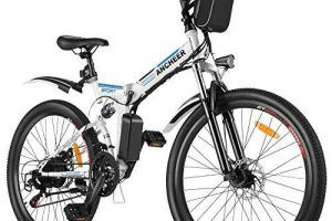 Bicicleta Eléctrica 24 Pulgadas Plegable