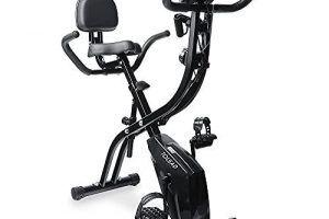 Bicicleta Estática Plegable con Remo