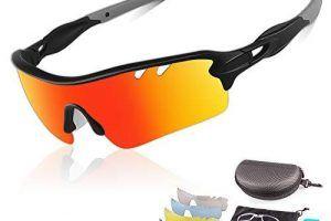 Gafas de Sol Polarizadas Hombre Ciclismo